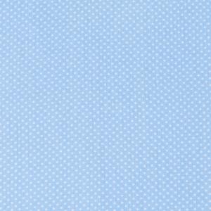 Ткань на отрез бязь плательная 150 см 1590/3 цвет голубой