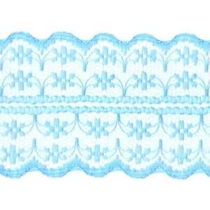 Кружево капрон 45 мм/10 м цвет 133-2 голубой