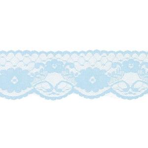 Кружево капрон 60 мм/5 м цвет 430 голубой
