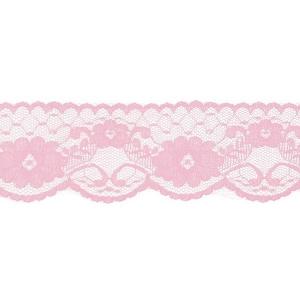 Кружево капрон 60 мм/5 м цвет 430 св-розовый