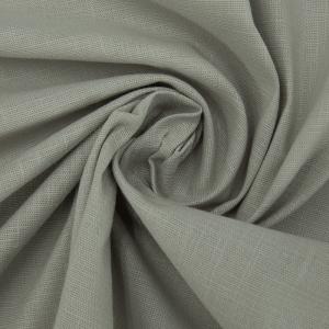Ткань на отрез лен цвет серый