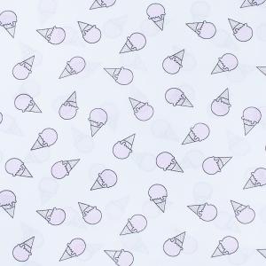 Ткань на отрез бязь плательная 150 см 1812/2 цвет розовый