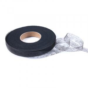 Паутинка ширина 15 мм (100 ярд)  цвет черный