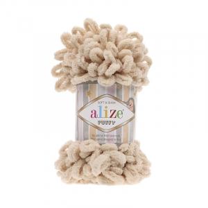 Пряжа ALIZE PUFFY 310-медовый (100% микрополиэстер)