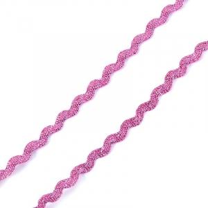 Тесьма плетеная вьюнчик (МЕТАНИТ) С-2914 (3621) г17 уп 20 м ширина 7 мм (5 мм) рис 8657 цвет 077