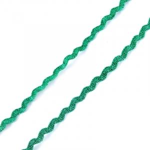 Тесьма плетеная вьюнчик (МЕТАНИТ) С-2914 (3621) г17 уп 20 м ширина 7 мм (5 мм) рис 8657 цвет 078