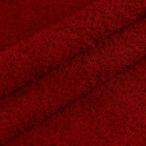 Ткань на отрез махровое полотно 150 см 390 гр/м2 цвет бордо