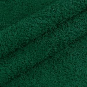 Ткань на отрез махровое полотно 150 см 390 гр/м2 цвет изумруд