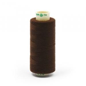 Нитки бытовые Dor Tak 40/2 366м 100% п/э, цв.344 коричневый
