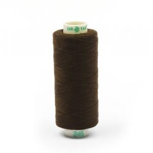 Нитки бытовые Dor Tak 40/2 366м 100% п/э, цв.345 коричневый