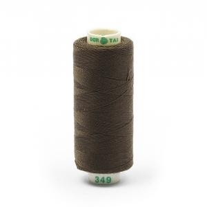 Нитки бытовые Dor Tak 40/2 366м 100% п/э, цв.349 коричневый