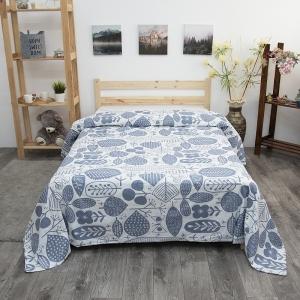 Пододеяльник из поплина 28302/1 Сканди серый компаньон, 2-x спальный