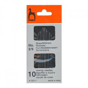 Иглы для наметки PONY 02311 размер 3-9 уп 10 шт