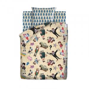 Детское постельное белье из хлопка 1.5 сп Гравити Фолз (70*70) рис. 8904+8905 вид 1 Гравити Фолз