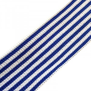 Лампасы №40 белые синие полосы 3см уп 10 м