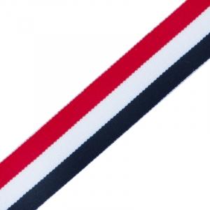 Лампасы №5 красная белая синяя 3см уп 20 м