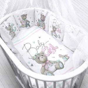 Ткань на отрез перкаль детский 112/150 см 22 Мишки Baby Girl