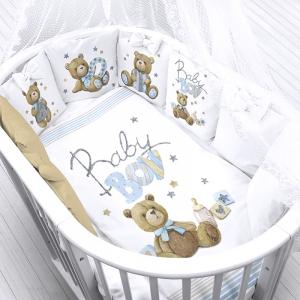 Ткань на отрез перкаль детский 150/37.5 см 21 Мишки Baby Boy