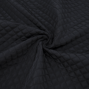 Курточная ткань на отрез цвет черый
