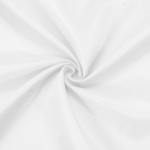 Ткань на отрез таффета 150 см 190Т цвет белый 2