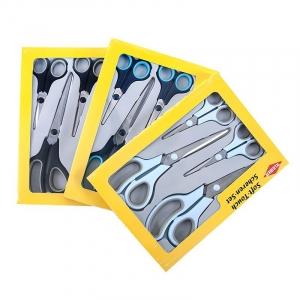 Набор ножниц Kleiber Soft-Touch мягкая ручка 13/14/21,5/24,5см уп.4шт