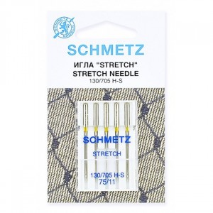 Иглы стрейч Schmetz 130/705H-S №75 5 шт.