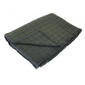 Одеяло полушерсть С-105ПЛ-ИЛШ клетка 1.5сп 420гр/м2