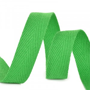 Лента киперная 10 мм хлопок 2.5 гр/см цвет F239 зеленый
