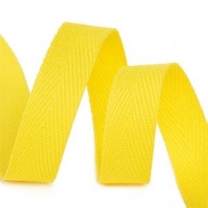 Лента киперная 15 мм хлопок 2.5 гр/см цвет F110 желтый