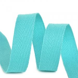 Лента киперная 15 мм хлопок 2.5 гр/см цвет F204 мятный