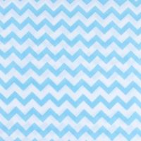 Ткань на отрез бязь плательная 150 см 1692 цвет бирюза