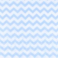 Ткань на отрез бязь плательная 150 см 1692 цвет голубой