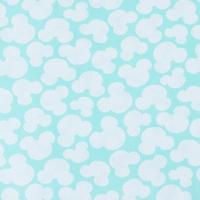 Ткань на отрез бязь плательная 150 см 1717/16 цвет мята