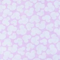 Ткань на отрез бязь плательная 150 см 1717/2 цвет розовый