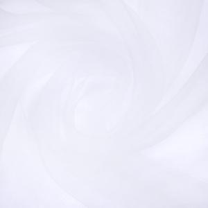 Ткань на отрез Вуаль 280 см цвет 1 белый