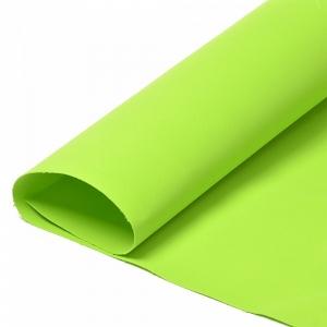 Набор листового фоамирана 031/1 (118) цв.зеленый лайм 1 мм уп.50 листов 30х35 см