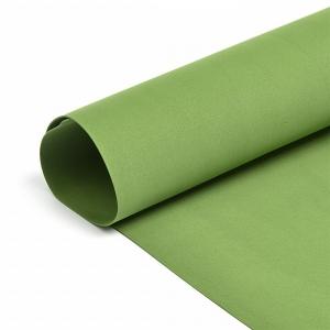 Набор листового фоамирана 038/1 (120) цв.темно-зеленый 1 мм уп.50 листов 30х35 см