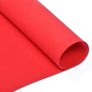 Фоамиран в листах 235/2 цв.красный 2 мм 60х70 см