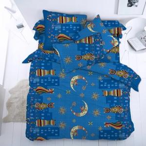 Ткань на отрез бязь 120 гр/м2 150 см 21109/1 Коты