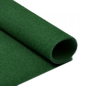 Фоамиран махровый 2 мм 20/30 см уп 10 шт MG.TOW.A047 цвет темно-зеленый