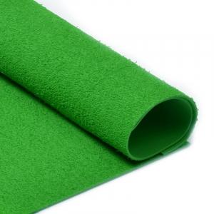 Фоамиран махровый 2 мм 20/30 см уп 10 шт MG.TOW.N030 цвет зеленый
