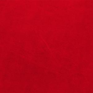 Велюр 30/1 карде 240 гр цвет GKR0163980 красный рулон