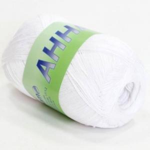 Анна 372 100% хлопок 100гр 530м 1000 (Италия) цвет белоснежный