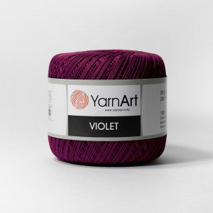 Виолет 112 100% мерсеризованный хлопок 50гр 282м