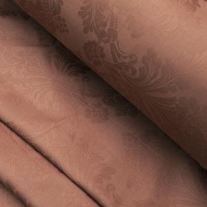 Жаккард сатин TQ02A цвет коричневый