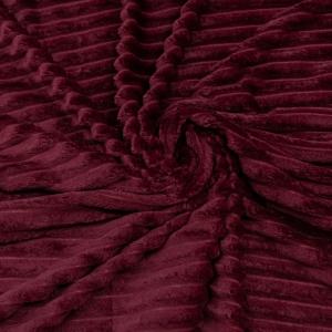 Ткань на отрез велсофт Orrizonte 300 гр/м2 200 см 008-ОT цвет красный