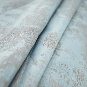 Портьерная ткань на отрез Мрамор 517/17 цвет мята