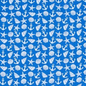Ткань на отрез бязь плательная 150 см 9189/1 цвет синий