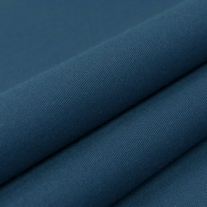 Ткань на отрез сатин гладкокрашеный 042BGS синий air jet