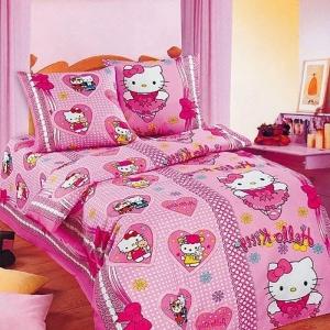 Постельное белье детское 3834/1 Бантики цвет розовый